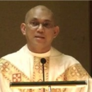 Welcoming Father Marvin-Paul Felipe in July
