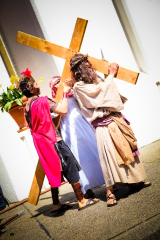 2017 Good Friday: Live Stations of the Cross